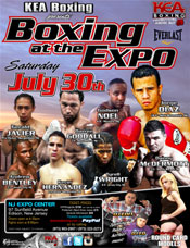 KEA Boxing at NJ Expo and Convention Center